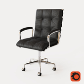 ROSSI LEATHER DESK CHAIR
