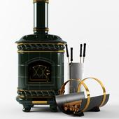 Victoria Heritage Ceramics fireplace