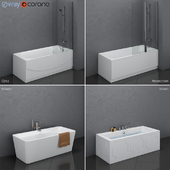 Набор ванн Villeroy & Boch set 23 (Architectura,Cetus,Legato,Squaro)
