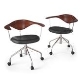 Johannes Hansen - PP502 swivel chair