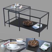 Комплект столов IKEA Витшё.