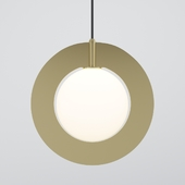 Plane - round pendant light by Tom Dixon
