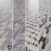 EQUIPE Kite / Arraw / Century / Patchwork B & W / Monocolor