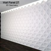 Wall Panel 27. 3D Geometry