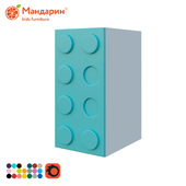 Single door wardrobe, Legoland series