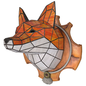 "Stained Glass ""Fox"""