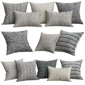 Ben Soleimani Textured Wool Pillow Cover
