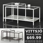 IKEA VITTSJO Nesting tables