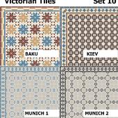 Topcer Victorian Tiles Set 10
