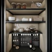 Poliform Phoenix kitchen set