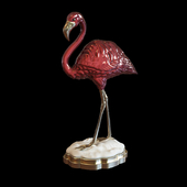 John-Richard Porcelain Pink Flamingo