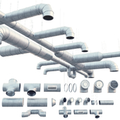 Round ventilation system
