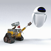 Wall-e and Eve/Валл-и и Ева