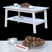 Журнальный столик IKEA Лунарп.