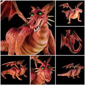 Дракониха из мультфильма Шрек