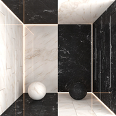 Black and White Marble 3