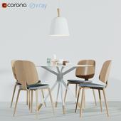 BoConcept Aarhus Chair & Billund Table