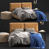 Glamor Twils Bed
