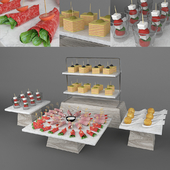 Set of canapes 2