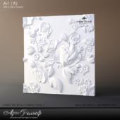 Gypsum 3d Art-193 panel from ArtRelief