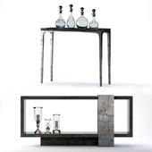 Bernhardt Linea Console Tables