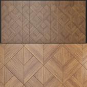 Wall panels made of wood