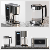 Toaster, Electric Kettle; Coffeemaker