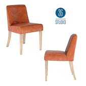 OM Leather chair model С374 from Studio 36