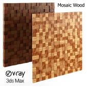Wood Mosaic Pattern Ikea Kitchen Plants