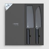 Set of ceramic knives Xiaomi Huo Hou black heat knife set