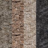Stone Walls set 3 - Vray Material