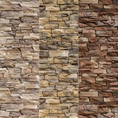 Stone Walls set 4 - Vray Material