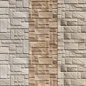 Stone Walls set 5 - Vray Material