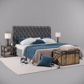 Кровать 3680 лофт