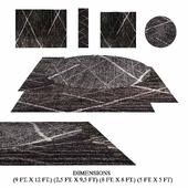 nuLOOM Thigpen Dark Grey rugs