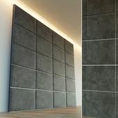 Decorative wall. Soft panel. 6