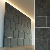 Decorative wall. Soft panel. 7