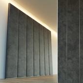 Decorative wall. Soft panel. 9