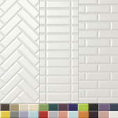 Плитка APE Loft (3 раскладки, 24 цвета).