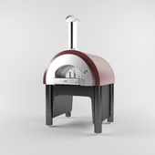 The furnace for pizza on firewood Alfa Pizza Quick Pro