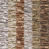 Stone Walls set 7 - Vray Material