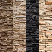 Stone Walls set 8 - Vray Material