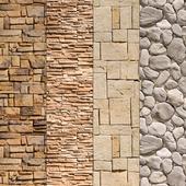 Stone Walls set 9 - Vray Material