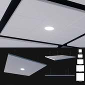 Ceiling systems Armstrong Canopy C