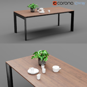 3d model furniture tables download at. Black Bedroom Furniture Sets. Home Design Ideas