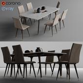 TunaEv Alfa Chair & Veda Table