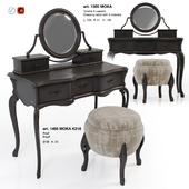 Giorgiocasa - Valpolicella - dressing table + pouf