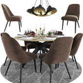 Zumma Accent With Round Table