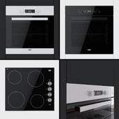 Beko - духовые шкафы BIF22300B, BIF22300W и варочная поверхность CIHV21