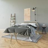 Кровать TRAMA LEGNO, PIANCA